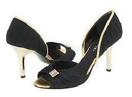 Zapatos Nine West 7m 24 Mex Negro/oro #b23