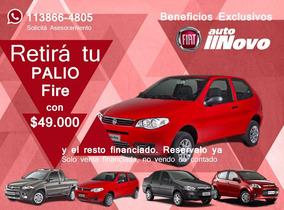 Fiat Palio Fire Rojo Pack Top Motor 1.4 0km Autonovo S.a