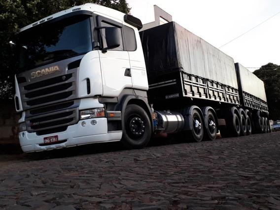 Scania R440 6x4 Com Retarder