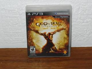 Ps3 God Of War Ascension Play Station 3