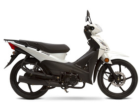 Zanella Due 110 Luxury Full Due Classic Cub Moto Azul 1