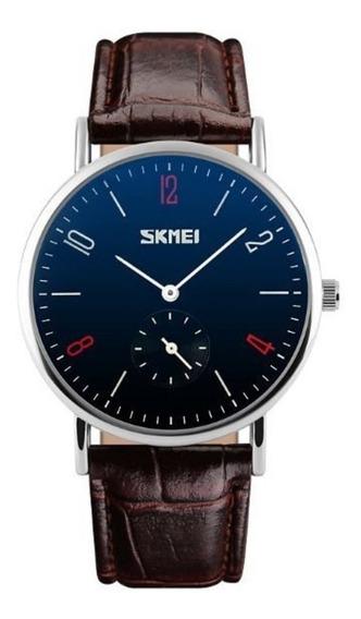 Relógio Masculino Social Skmei 9120 Importado Original