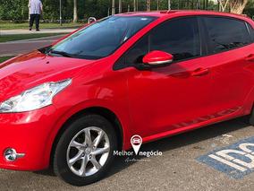Peugeot 208 Active Pack 1.5 Flex 2015 Vermelho