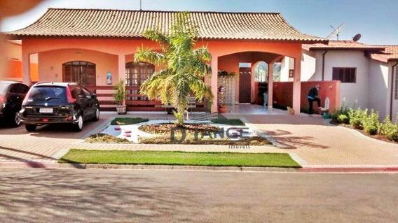Casa Com 3 Dormitórios À Venda, 285 M² Por R$ 1.200.000,00 - Condomínio Residencial Terras Do Caribe - Valinhos/sp - Ca9666