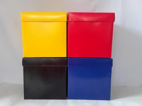 Cajas De Regalo Unicolores 15x15x15 Cms