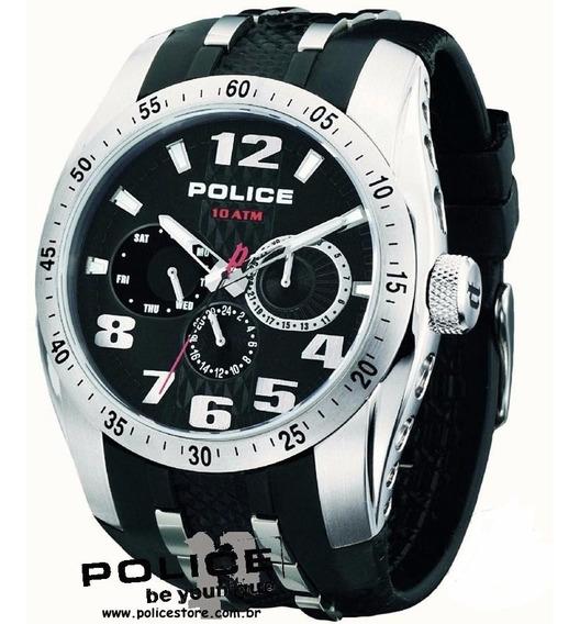 Relógio Police - 12087js/02 - Topgear - Rubber Strap