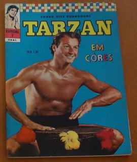 Tarzan Em Cores Especial 1ª Série Ebal Nº 7 Gibi Hq