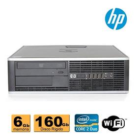 Pc Cpu Hp Elite 8000 Core 2 Duo E8200 6gb Ddr3 160gb Wifi