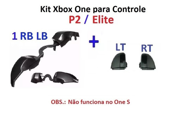 Xbox One P2 / Elite - Gatilho Rb Lb + Rt E Lt - Sy-01