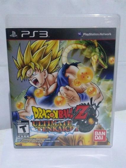 Jogo Dragon Ball Z Ultimate Tenkaichi Ps3 Fisica R$99,90