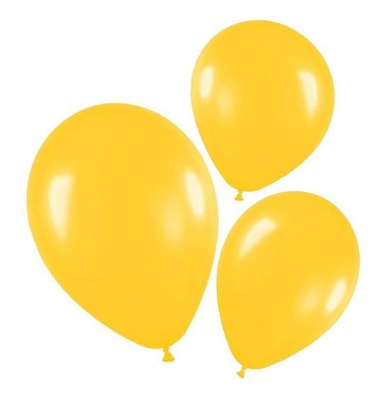 25 Globos Perlados 12pulgadas Amarillos - Hoy La Golosineria