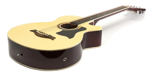 Imagen 1 de 3 de Guitarra electroacústica Femmto AG002  natural