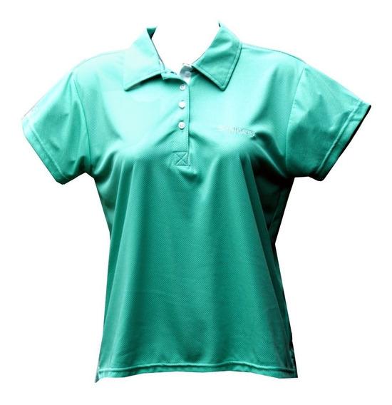 Playera Deportiva Mujer Slippery® Polo Proteccion Uv