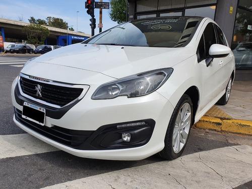 Peugeot 308 2.0 Allure Plus 143cv 2016 Blanco As Automobili