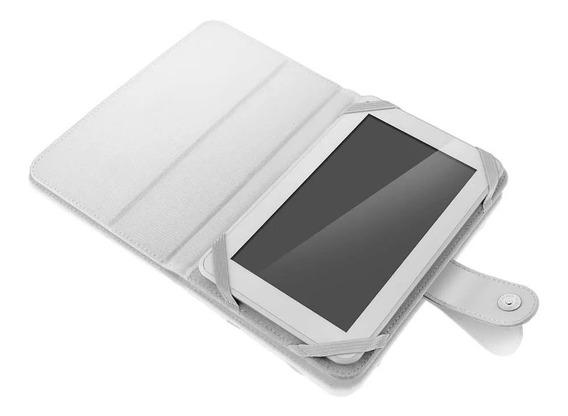 Capa Para Tablet 7 Pol.multilaser Branco - Bo215