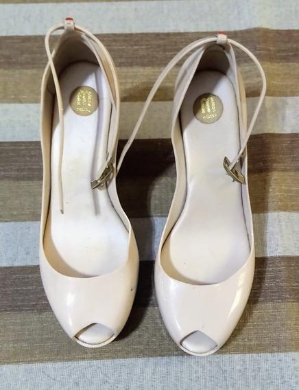 Sapato Melissa - Salto Anabela