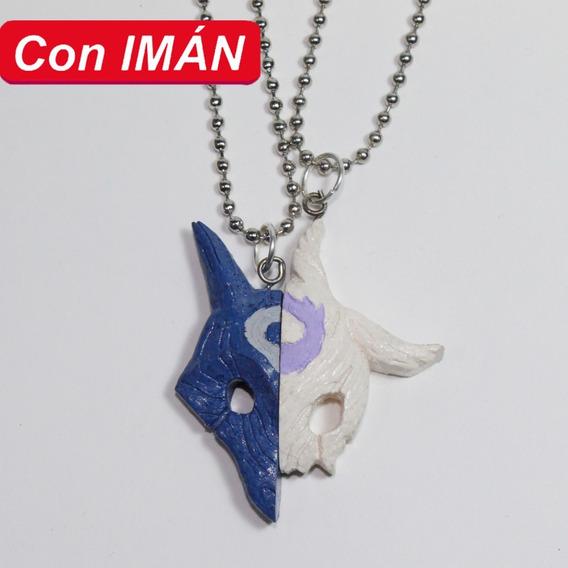 Collar De Kindred Con Imán League Of Legends Amor Amistad