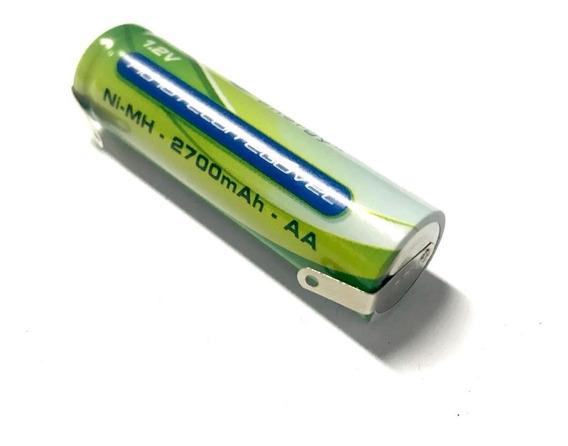 Bateria Aa 1,2v 2700mah Bap Energy Com Terminal Para Solda