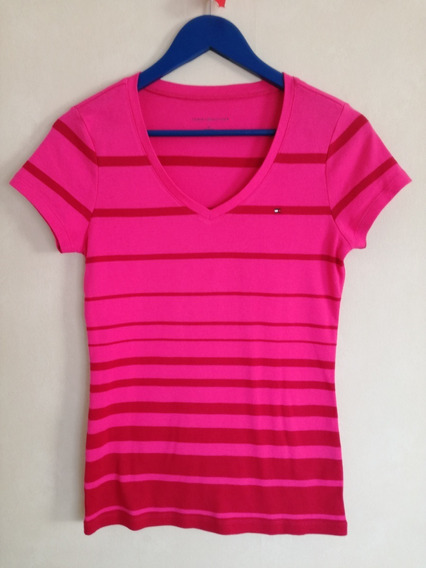 Remera De Mujer Tommy Hilfiger Talle M Impecable Perfecta !!