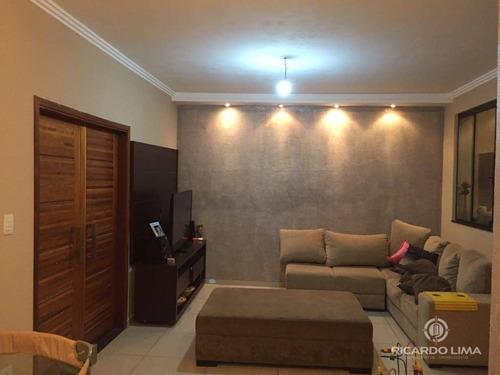 Casa Com 3 Dormitórios À Venda, 110 M² Por R$ 405.000,00 - Água Branca - Piracicaba/sp - Ca0772
