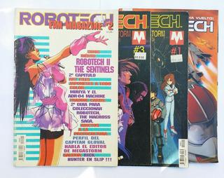 Lote De 4 Comics Robotech
