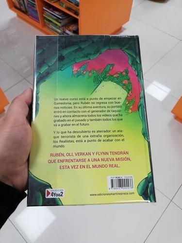 Libro Real Hero Escuela De Gamers 3 El Rubius Mercado Libre