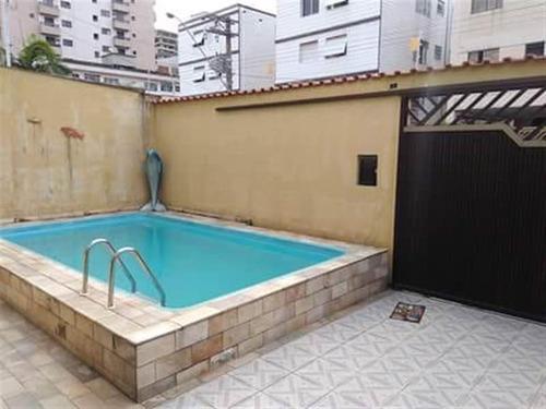 Vendo Excente Casa Alto Padrão No Bairro Canto Do Forte Praia Grande - Csc322