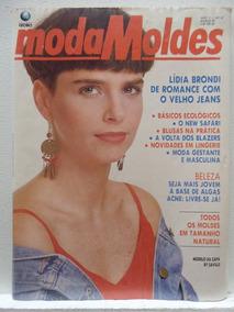 Revista Moda Moldes #57 Março 1991 - Com Moldes