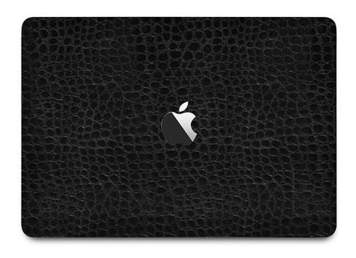 Skin Premium Couro Preto Macbook Pro 15 Touch Bar 2016-2017