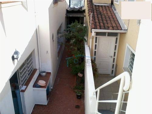Sobrado Com 3 Dormitórios À Venda, 220 M² Por R$ 658.000,00 - Brooklin Paulista - São Paulo/sp - So0923