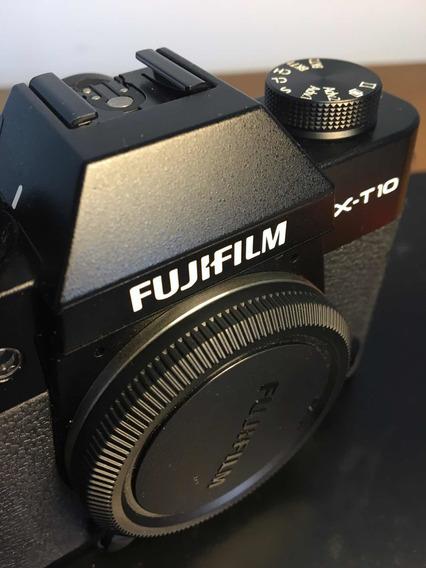 Câmera Fotográfica Fuji Xt10 Mirorless + 1 Lente F2.0