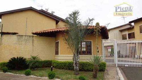 Casa Com 3 Dormitórios À Venda, 92 M² Por R$ 375.000,00 - Jardim Bela Vista - Sumaré/sp - Ca1811