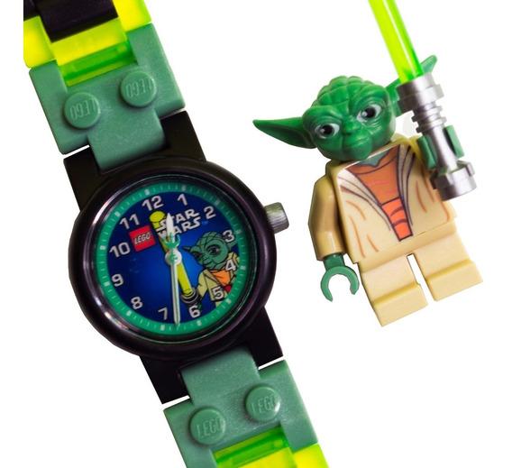 Lego Star Wars Yoda Reloj Pulso Diego Vez