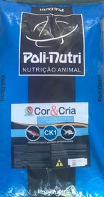 Ração Para Carpa Poli-nutri Cor & Cria Ck1, 15kg
