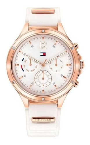 Reloj Tommy Hilfiger De Mujer Blanco Con Rosé Eve 1782280
