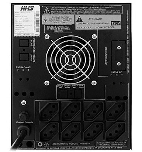Nobreak Premium Senoidal - Gii 2200va 110v Recondicionado