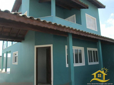 Casa No Bairro São José Em Peruíbe - Lcc-207