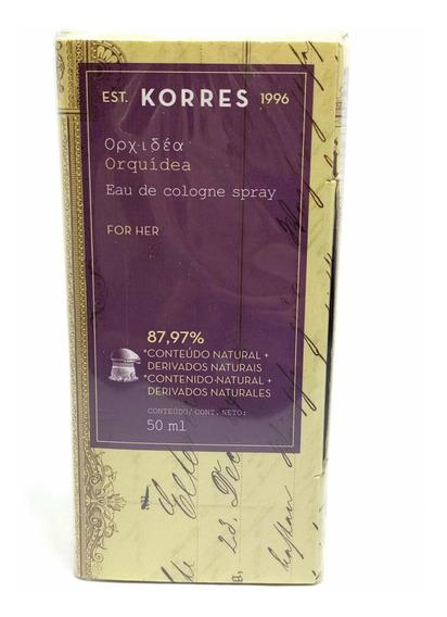 Perfume Korres Orquídeas 50ml Original Na Caixa Lacrado
