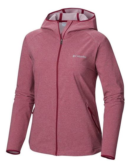 Casaca Heather Canyon Softshell Jacket Burdeo
