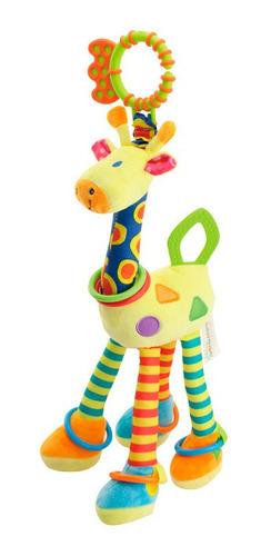 Jirafa Con Actividad 45 Cm. Juguete Bebe . Phi Phi Toys