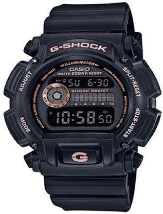 Relógio Dw-9052gbx-1a4 Com Detalhes Em Rosé Gold