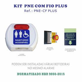 Alarme Banheiro Deficiente - Com Fio Plus - Nbr 9050