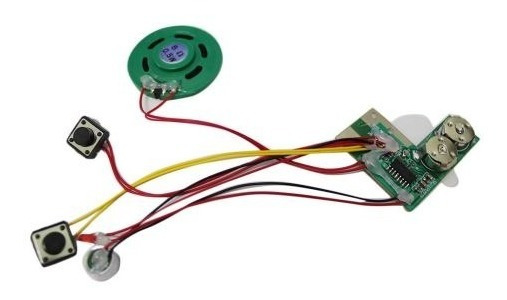 Gravador De Voz 10seg Modulo Chip Ci