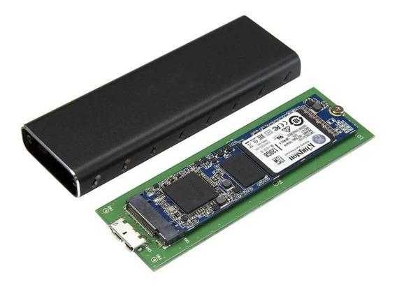 Case Capsula Enclosure Usb 3.0 M2 Disco Solido Laptop Pc Mac