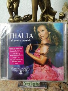 Thalia - El Sexto Sentido Re+loaded - Cd Importado
