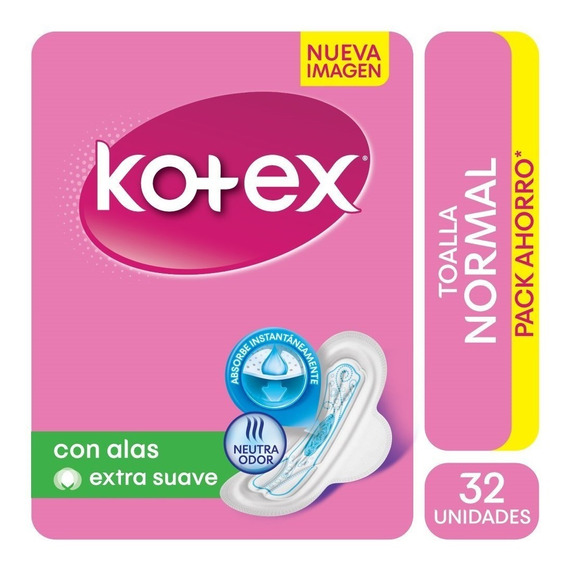 Toalla Femenina Kotex Normal X 32
