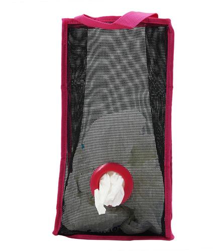 Imagen 1 de 7 de Dispensador Organizador De Red, Para Bolsas,rosado