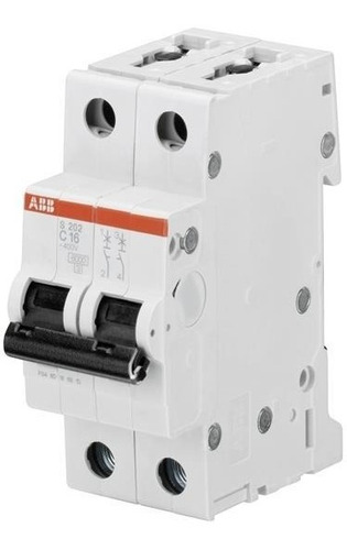 Abb 2cds252001r0254 Mini Interruptor S202-c25 25 Amps