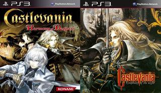 Castlevania Harmony Of Despair + Symphony Of The Night ~ Ps3