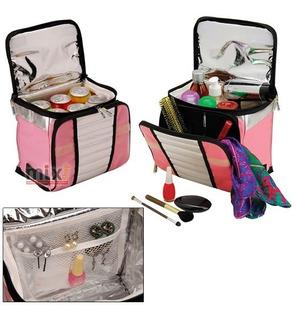 Ice Cooler Rosa Bolsa Sacola Térmica Mor 7,5 Litros Promoção